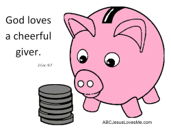 Image Result For God Loves A Cheerful Giver Sunday Craft