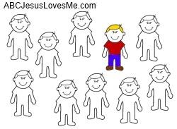 Ten Lepers  ABC Jesus Loves Me
