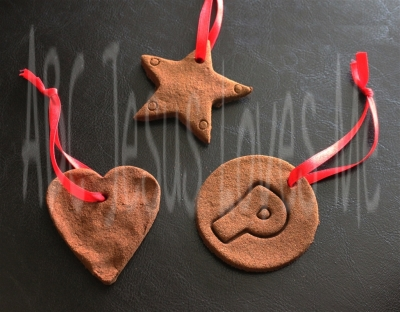 Cinnamon Apple Sauce Ornaments