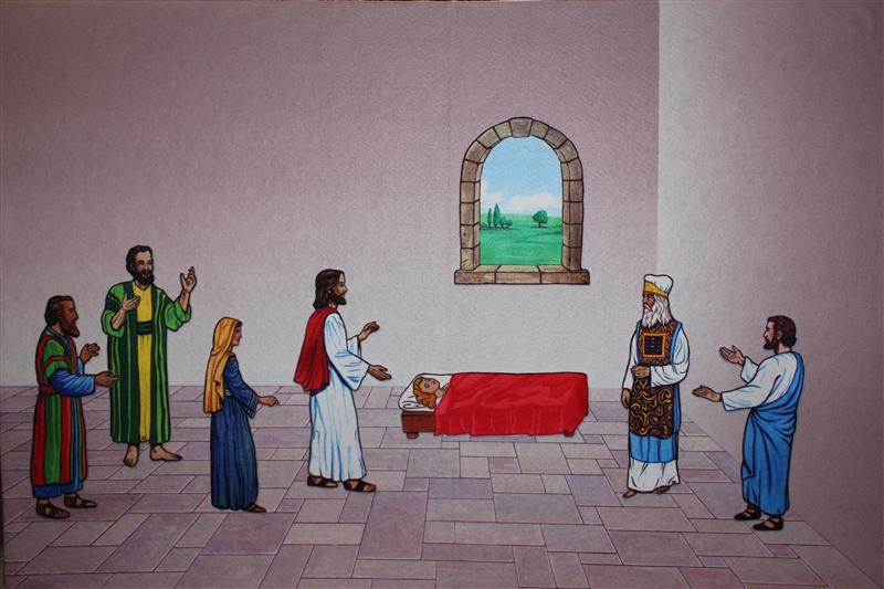 Jesus Heals The Little Girl Abcjesuslovesme