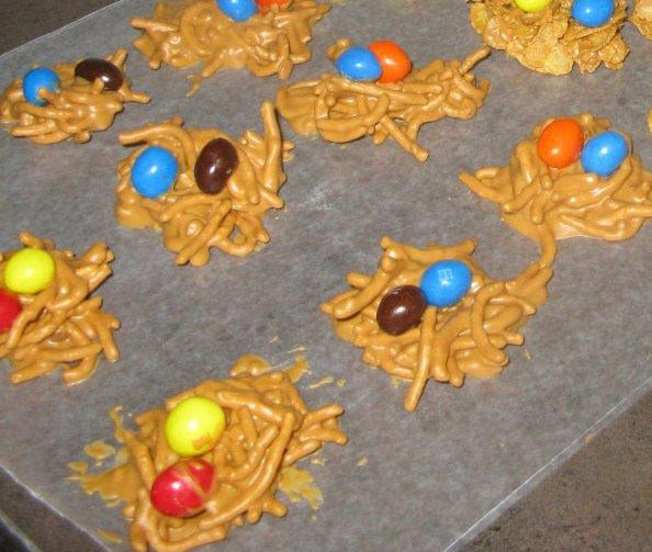 Bird Nest Cookies