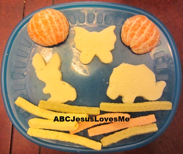 Day 6 Creation Snack for Toddlers