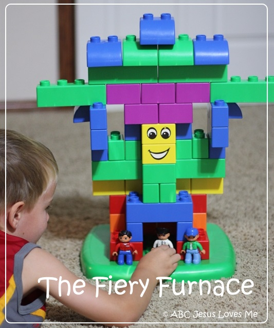 Fiery Furnace Lego Building