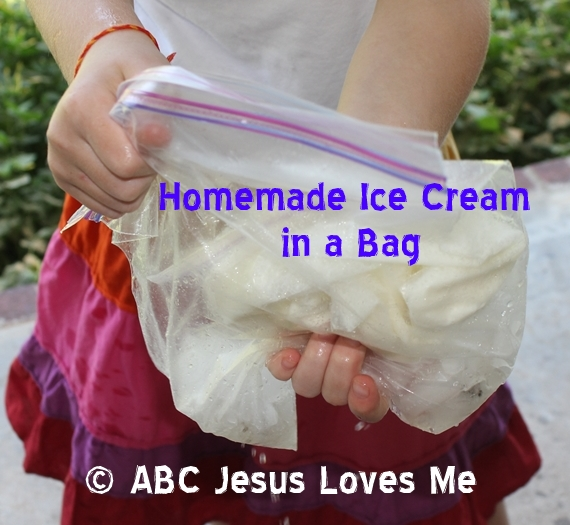 Homemade Icecream Activity