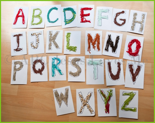 Misc Tactile Letters
