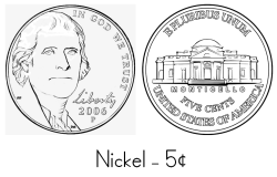 Nickel Coloring Sheet
