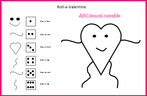 Roll-a-Picture Games | ABCJesusLovesMe
