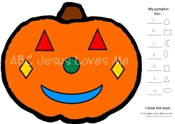 picture about Pumpkin Gospel Printable titled Christian Halloween Options for Children ABCJesusLovesMe