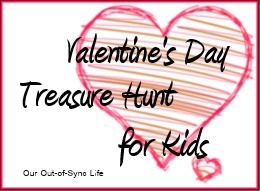 Valentine's Day Treasure Hunt