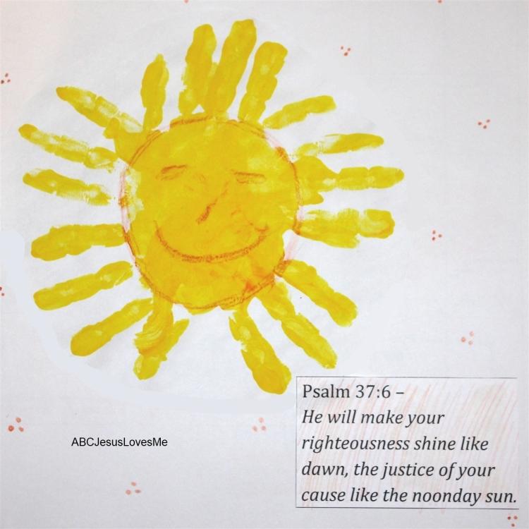Handprint Amp Footprint Calendar Abc Jesus Loves Me