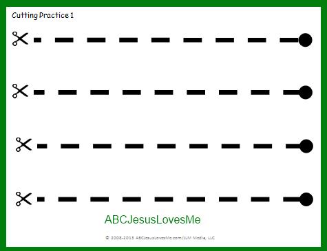 Common Worksheets » Preschool Cutting Worksheet - Preschool and ...