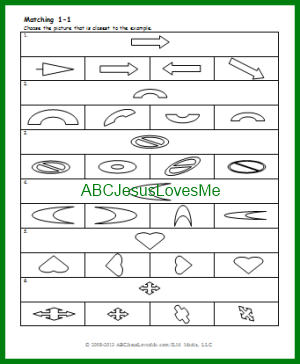 ABCJesusLovesMe 4 Year Curriculum, Week 10 | ABCJesusLovesMe