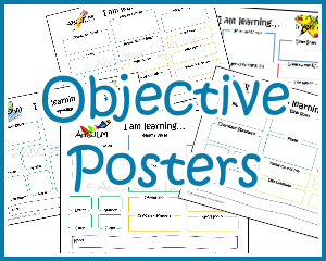 5 Year Curriculum Objective Poster
