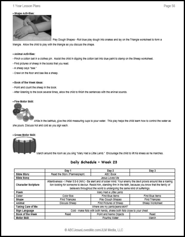 graphic regarding Jesus Loves Me Sign Language Printable identified as 1 Yr Curriculum ABC Jesus Enjoys Me