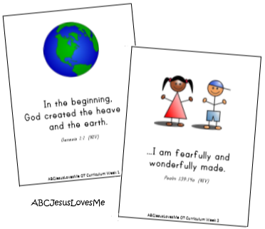 Old Testament Memory Verse Cards