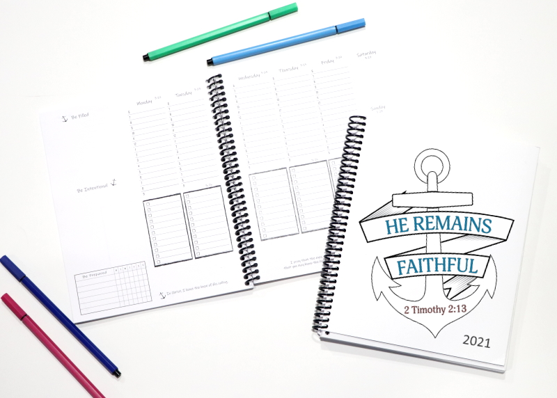 Be Intentional Planner - Small