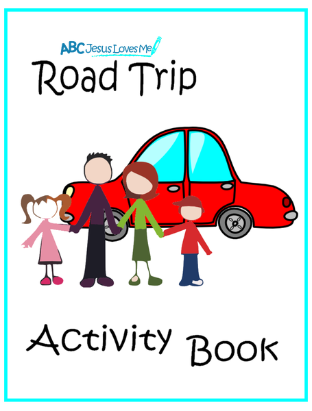 Road Trip Activity Workbook