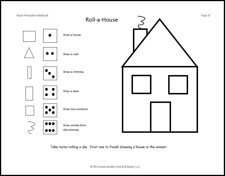 Visual Perception Workbook | ABCJesusLovesMe
